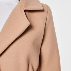 RUT & CIRCLE TUVA LONG COAT RUT-19-4-70-C CAMEL