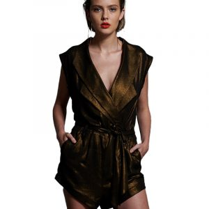 ONE TEASPOON BROOKLYN JUMPSUIT 49H22729C BRONZE