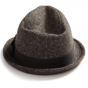 SCOTCH AND SODA TRILBY WINTER HAT 1104-08.72103-BROWN