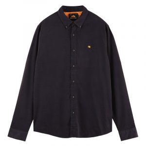 SCOTCH AND SODA CLASSIC BUTTON-DOWN CORDUROY SHIRT 158428-0002-NIGHT