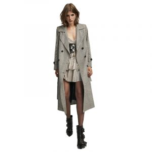 ANIYE BY TRENCH MOORE COAT 181805-01998-BLINK CHECK