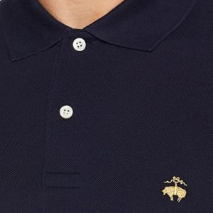 BROOKS BROTHER L/S SLIM FIT POLO 320 100121540 042-NAVY