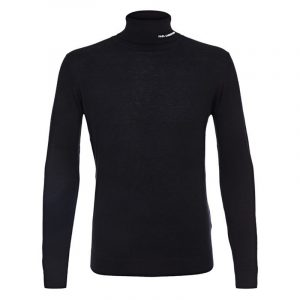 KARL LAGERFELD KNIT ROLLNECK 655040 502306-990-BLACK