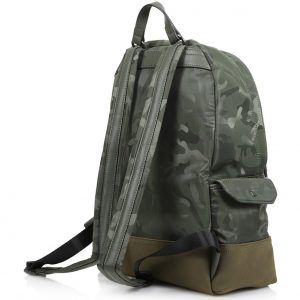TRUSSARDI JEANS TICINESE BACKPACK NYLON ECO SUEDE 71B00098 9Y099998-G270-CAMOUFLAGE