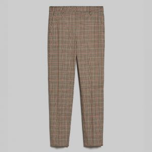 PENNY BLACK SFUSO TROUSERS 90H21340320/106-007-CAMEL PATTERN