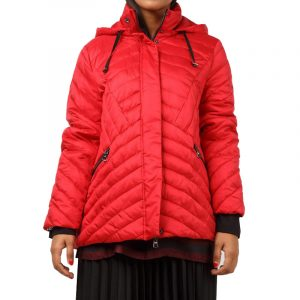 ELENA MIRO QUILTED JACKET F565T000498N-26-RED