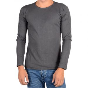 REPLAY ONG-SLEEVED RAW CUT T-SHIRT M3592 .000.2660-938-COLD GREY