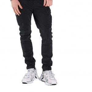 SUPERDRY SURPLUS CARGO PANT M7000023A-AFB-WASHED BLACK