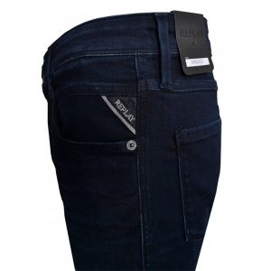 REPLAY ANBASS SLIM FIT JEANS M914 .000.41A 781-007-DARK BLUE