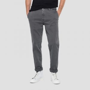REPLAY REGULAR FIT HYPERCHINO COLOR X.L.I.T.E. BENNI JEANS M9722 .000.8366197-591-GREY MOUSE