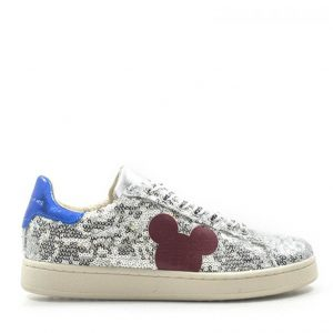 MOA MASTER OF ARTS SNEAKER PAILETTES LAMINATED MD326 M08B-SILVER