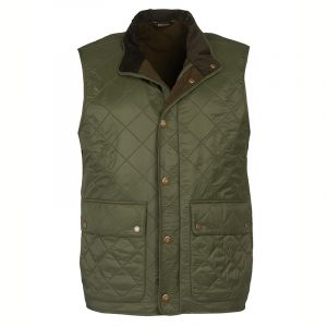 BARBOUR ROSEMOUNT POLAR FLEECE GILET MGI0082-OL51-OLIVE
