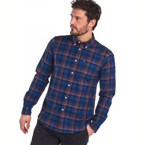 BARBOUR HIGHLAND CHECK 11 TAILORED SHIRT MSH4549-NY91-NAVY