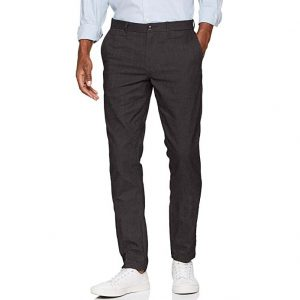 TOMMY HILFIGER STRAIGHT DENTON CHINO STRAIGHT FIT MW0MW07997 095-CHARCOAL