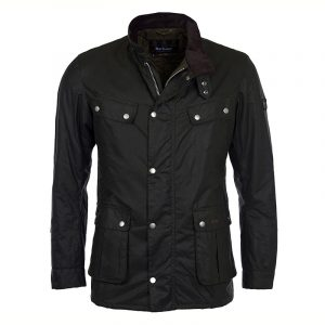 BARBOUR B.INTL DUKE WAXED JACKET MWX0337-SG91-SAGE
