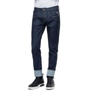 REPLAY ANBASS JEANS M914Y.000.141 700-007-DEEP BLUE