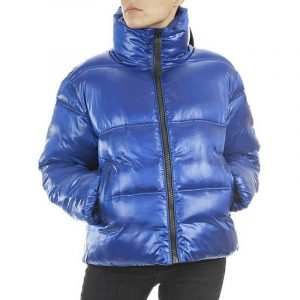 REPLAY JACKET W7607 .000.83834-185-ELECTRIC BLUE