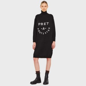 5PREVIEW JOSEPHINE SWEATER DRESS X043900-BLACK