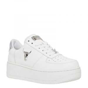 WINDSOR SMITH RICH SNEAKERS 0112000567-017-SILVER