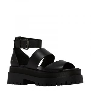 WINDSOR SMITH THRILLED LEATHER SANDALS 0112000579-001-BLACK