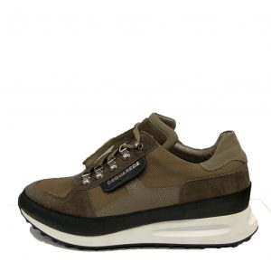 DSQUARED2 DEAN GOES HIKING SNEAKERS W17SN414-1295-5130 BROWN