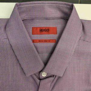 HUGO BOSS EBROS SHIRT 50330374-510-WHITE/RED