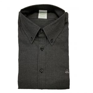 BROOKS BROTHER MILANO FIT SHIRT NON IRON 00151307-GREY