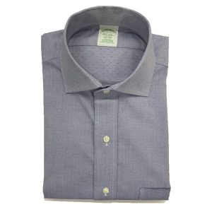 BROOKS BROTHER MILANO FIT SHIRT NON IRON 00073951-BLUE