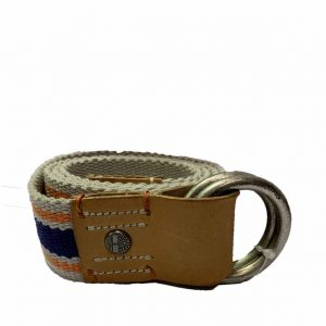 TIMBERLAND ADJ MAN BELT B6155182-LIGHT GREY/BLUE