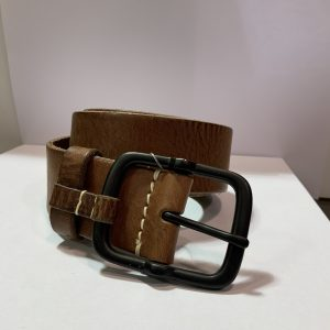 TIMBERLAND LEATHER MAN BELT A1C5D214-BROWN