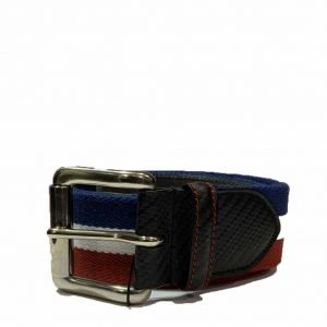 HACKETT AMR CASUAL BELT HM411063-999-NAVY/WHITE/RED