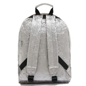 MI PAC CRUSHED VELVET BACKPACK 740314-A08-GREY