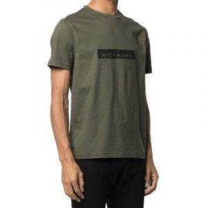 JOHN RICHMOND MONSTUR T-SHIRT RMA20116TS-KHAKI
