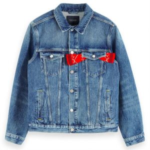 SCOTCH & SODA JEAN JACKET 154120 – 3343 BLUE DENIM