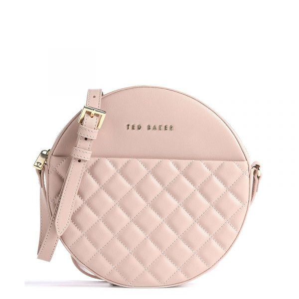 TED BAKER CIRUS QUILTED CIRCLE SMALL XBODY 248952-MID-PINK