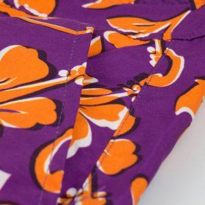 MOSCHINO SWIMSHORT A6134-2820-1231-PURPLE/ORANGE FLOWERS