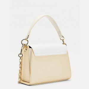 TOMMY HILFIGER TH LOCK SMALL SATCHEL CB AW0AW09655-ACK-CARAVAN