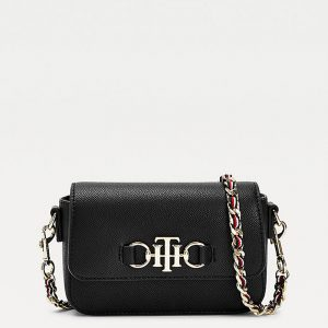 TOMMY HILFIGER TH CLUB MINI CROSSOVER AW0AW09679-BDS-BLACK