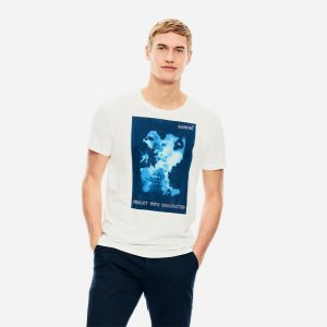 GARCIA JEANS S/S T-SHIRT WITH PRINT B11202-50-WHITE