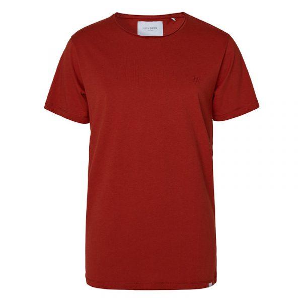 LES DEUX AUSTIN LOOSE FIT T-SHIRT LDM101057-620610-RUST RED