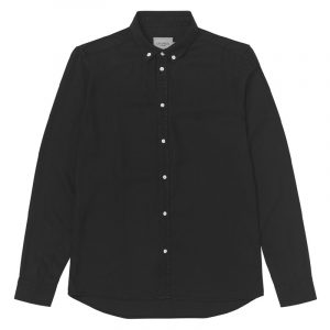 LES DEUX LAURENT TENCEL DOBBY SHIRT LDM410077-100100-BLACK