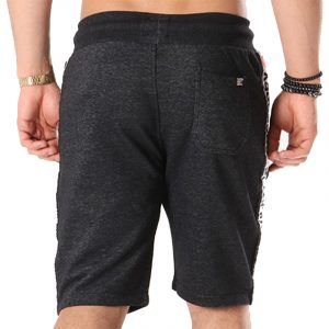SUPERDRY STADIUM SHORT M71012XQ-PK1-MIDNIGHT BLACK GRIT