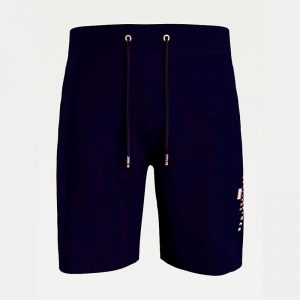 TOMMY HILFIGER ESSENTIAL TOMMY SWEAT SHORT MW0MW17401-DW5-DESERT SKY