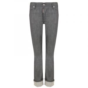 DSQUARED2 CROPPED FLARE JEAN S72LA0987-S30260-852-GREY