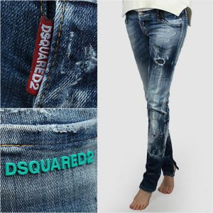 DSQUARED2 SKINNY JEAN S75LA0678 S30342 470-DENIM