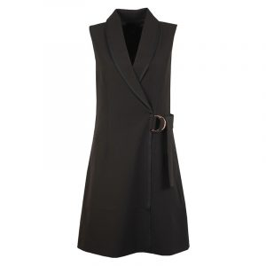 TED BAKER D-RING TAILORED DRESS WMF-ADAARD-WC9W-BLACK