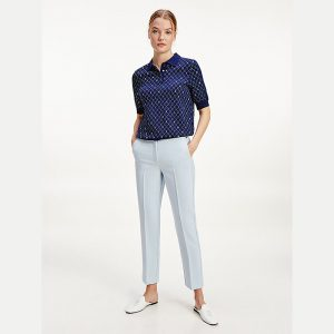 TOMMY HILFIGER CORE SUITING SLIM PANT WW0WW29541-C1O-BREEZY BLUE