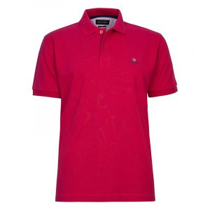 NAVY & GREEN SOLID POLOSHIRT PIQUE CUSTOM FIT 24GE.300.4-MULBERRY