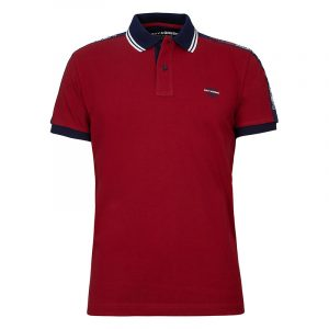 NAVY & GREEN POLOSHIRT YOUNG LINE 24GE.873/YL-RED 1