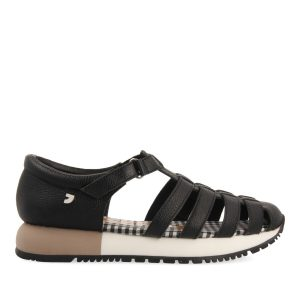 GIOSEPPO SHIVELY PLATFORM SANDALS 62640-BLACK